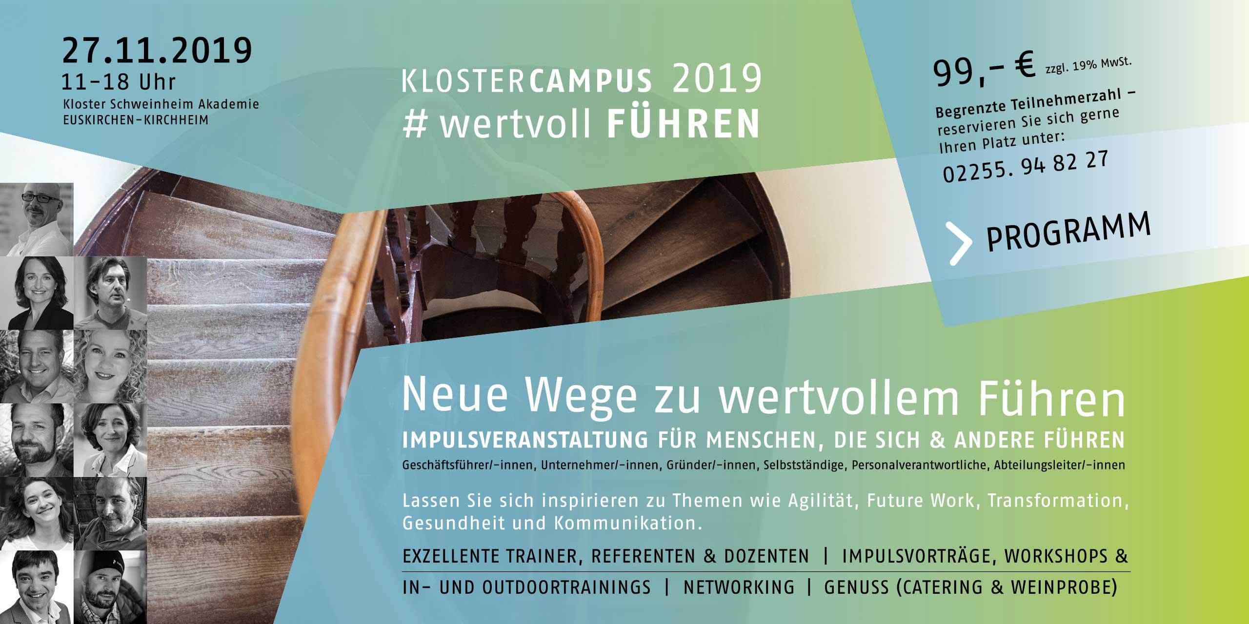 Kloster Campus 2019 - wertvoll führen